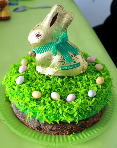 Gâteau lapin paques